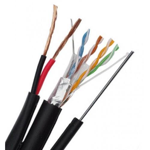 Комбиниран FTP кабел категория 5Е, SP-1012F-051-М