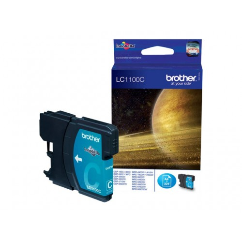 BROTHER LC-1100 ink cartridge cyan standard capacity 5.5ml 325 pages 1-pack