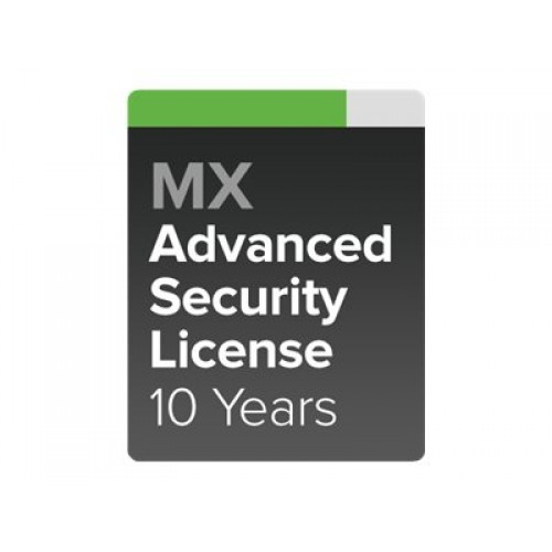CISCO Meraki MX64W Advanced Security License and Support/ 10 Years