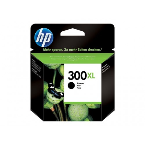 HP 300XL original ink cartridge black high capacity 12ml 600 pages 1-pack Blister multi tag