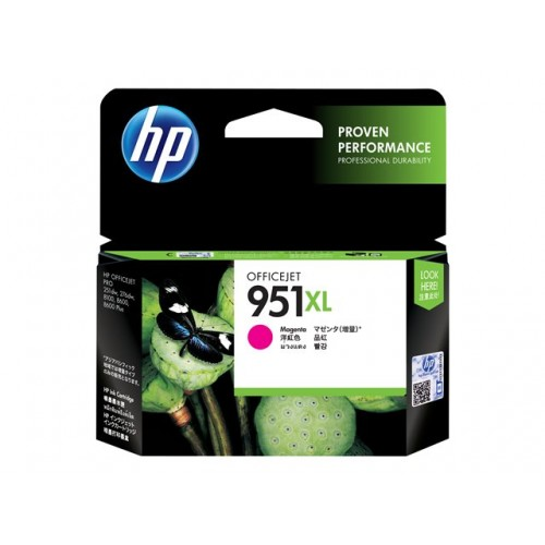 HP 951XL original ink cartridge magenta high capacity 1.500 pages 1-pack Blister multi tag Officejet