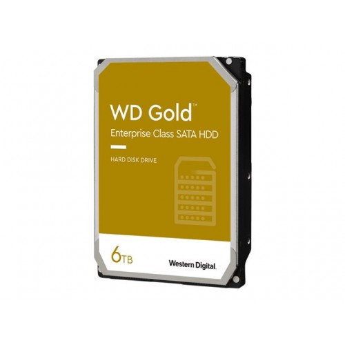 WD Gold 6TB SATA 6Gb/s 3.5inch 256MB cache 7200rpm internal RoHS compliant Enterprise HDD Bulk